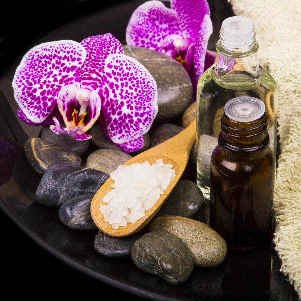 Spa & massage och scrub